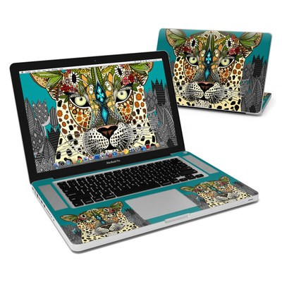 MacBook Pro 15in Skin - Leopard Queen