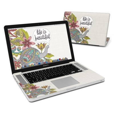 MacBook Pro 15in Skin - Life is Beautiful
