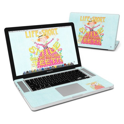 MacBook Pro 15in Skin - Life is Short