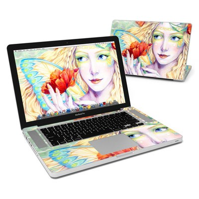 MacBook Pro 15in Skin - Light of the Poppy