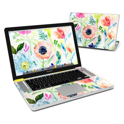 MacBook Pro 15in Skin - Loose Flowers