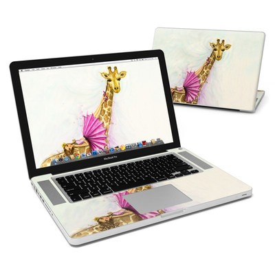 MacBook Pro 15in Skin - Lounge Giraffe