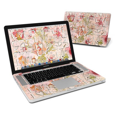 MacBook Pro 15in Skin - Love Floral