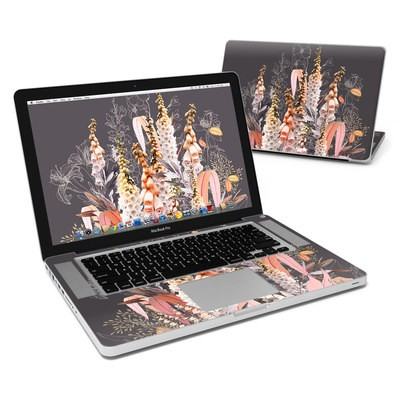 MacBook Pro 15in Skin - Lupines Chocolate