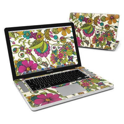 MacBook Pro 15in Skin - Maia Flowers