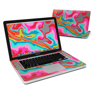 MacBook Pro 15in Skin - Marble Bright