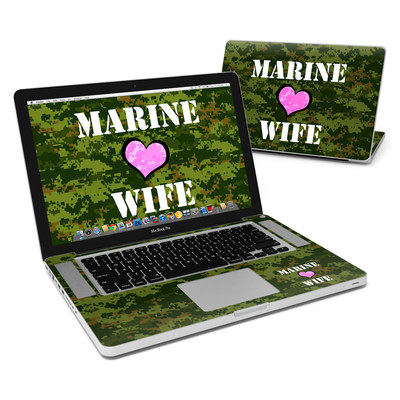 MacBook Pro 15in Skin - Marine Wife