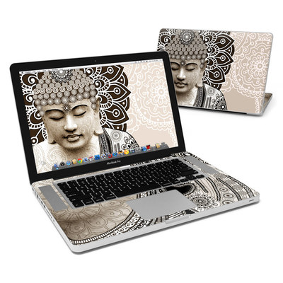 MacBook Pro 15in Skin - Meditation Mehndi