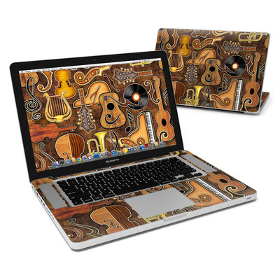 MacBook Pro 15in Skin - Music Elements