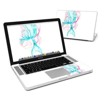 MacBook Pro 15in Skin - Mermaid Tails