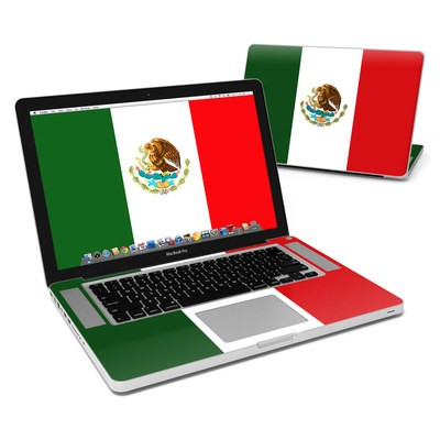 MacBook Pro 15in Skin - Mexican Flag