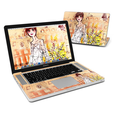 MacBook Pro 15in Skin - Mimosa Girl