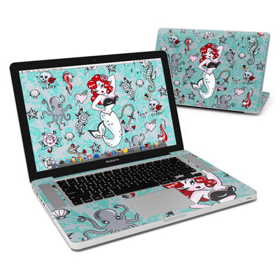MacBook Pro 15in Skin - Molly Mermaid