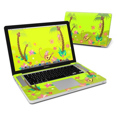 MacBook Pro 15in Skin - Monkey Melody