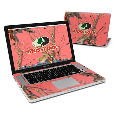 MacBook Pro 15in Skin - Break-Up Lifestyles Salmon