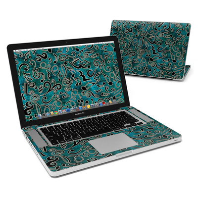 MacBook Pro 15in Skin - Music Notes