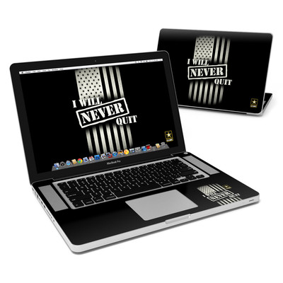MacBook Pro 15in Skin - Never Quit