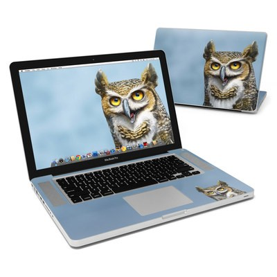 MacBook Pro 15in Skin - Owl Totem