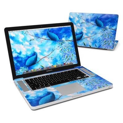 MacBook Pro 15in Skin - Paradise Peacocks