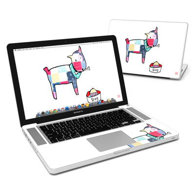 MacBook Pro 15in Skin - Patch Dog