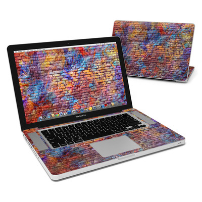 MacBook Pro 15in Skin - Painted Brick