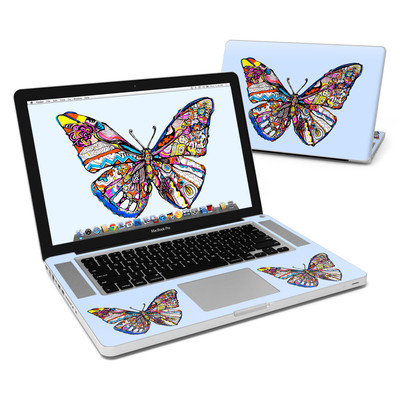 MacBook Pro 15in Skin - Pieced Butterfly