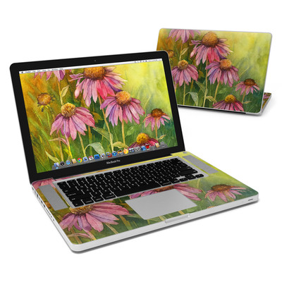 MacBook Pro 15in Skin - Prairie Coneflower