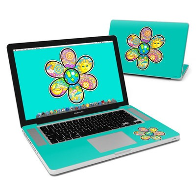 MacBook Pro 15in Skin - Peace Flower