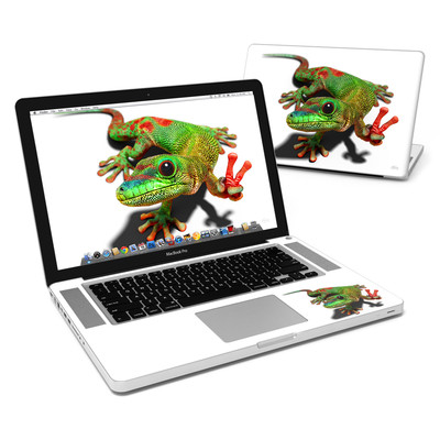 MacBook Pro 15in Skin - Peace Gecko