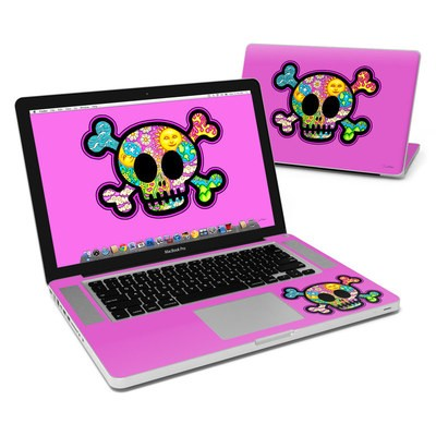 MacBook Pro 15in Skin - Peace Skull