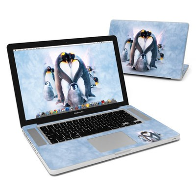 MacBook Pro 15in Skin - Penguin Heart