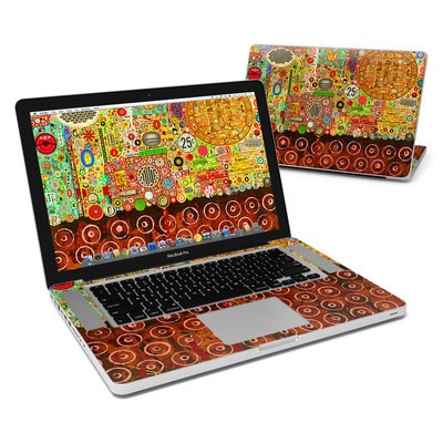 MacBook Pro 15in Skin - Percolations