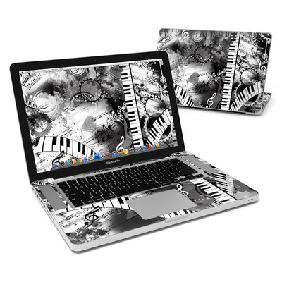 MacBook Pro 15in Skin - Piano Pizazz