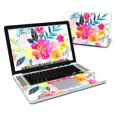 MacBook Pro 15in Skin - Pink Bouquet