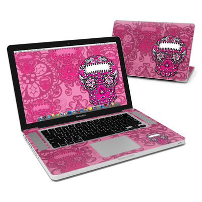 MacBook Pro 15in Skin - Pink Lace