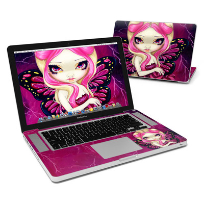 MacBook Pro 15in Skin - Pink Lightning