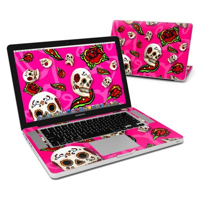MacBook Pro 15in Skin - Pink Scatter