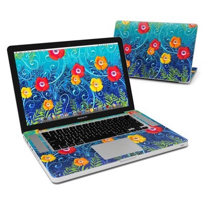 MacBook Pro 15in Skin - Poppies