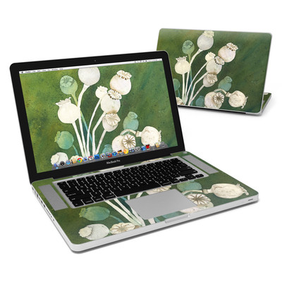 MacBook Pro 15in Skin - Poppy Pods