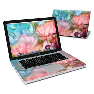 MacBook Pro 15in Skin - Poppy Garden