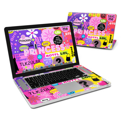 MacBook Pro 15in Skin - Princess Text Me