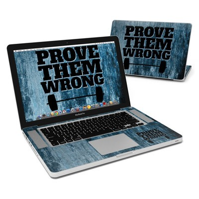 MacBook Pro 15in Skin - Prove Them Wrong