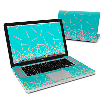 MacBook Pro 15in Skin - Pop Rocks Wands