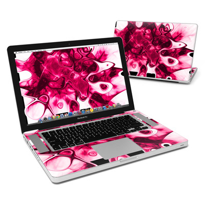 MacBook Pro 15in Skin - Pink Splatter