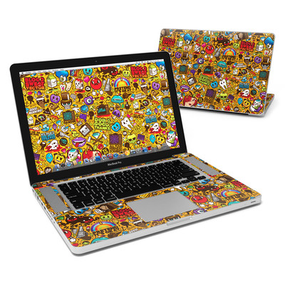MacBook Pro 15in Skin - Psychedelic