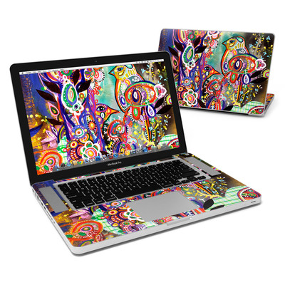 MacBook Pro 15in Skin - Purple Birds