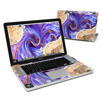 MacBook Pro 15in Skin - Purple Waves