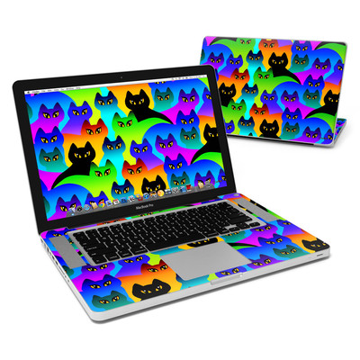 MacBook Pro 15in Skin - Rainbow Cats