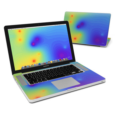 MacBook Pro 15in Skin - Rainbow Contours