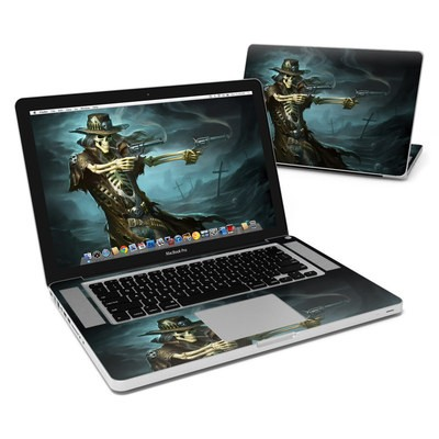 MacBook Pro 15in Skin - Reaper Gunslinger